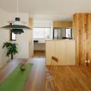 北寺尾の家〜LDKを作るリノベーション〜の写真 ダイニングキッチン