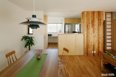 ダイニングキッチン (北寺尾の家〜LDKを作るリノベーション〜)