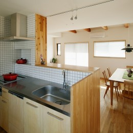 北寺尾の家〜LDKを作るリノベーション〜 (キッチン)