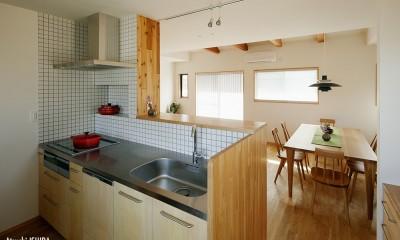 キッチン|北寺尾の家〜LDKを作るリノベーション〜