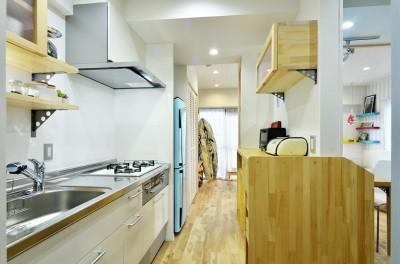 キッチン (使い勝手の良いワンルームマンション)