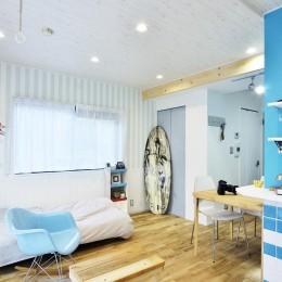 オーシャンブルースタイル (寝室)