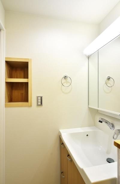 洗面室 (使い勝手の良いワンルームマンション)