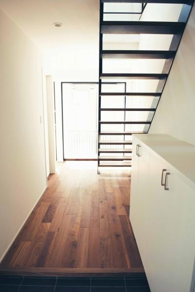 玄関 2 (大田区 大岡山 WHITE HOUSE 1)