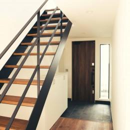 大田区 大岡山 WHITE HOUSE 1 (階段 4)