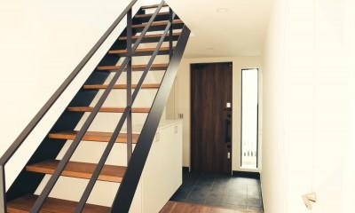 階段 4|大田区 大岡山 WHITE HOUSE 1