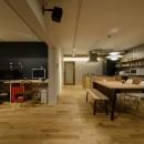 リノベエステイトの住宅事例「KUROMOKUの家」