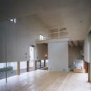 アトリエ・ドンの住宅事例「地窓の家〜地窓と3つの庭と2つの書斎がある家〜」
