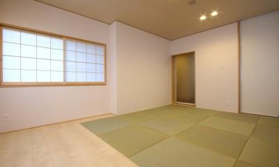 「バリアフリー」と「心地よさ」をかなえた シニア向けリフォーム:コンクリート住宅のリノベーション (和室)