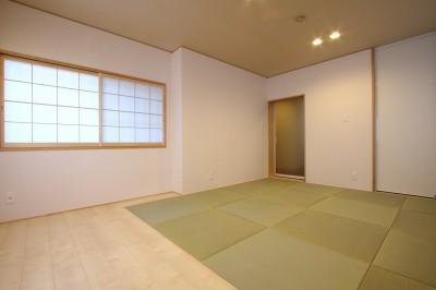 和室 (「バリアフリー」と「心地よさ」をかなえた シニア向けリフォーム:コンクリート住宅のリノベーション)