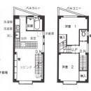 店舗(自然派日用品)付き住宅のリフォームの写真 図面