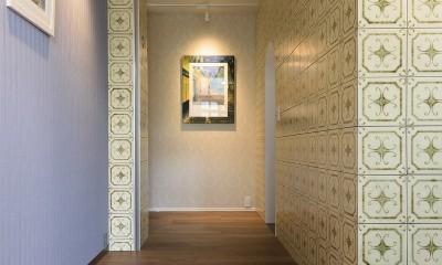 グランドピアノの家 (玄関)