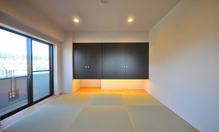 築24年のマンションを英国家具にマッチさせるスタイリッシュなテイストにリノベ!平日と休日のライフスタイルの変化にも対応できる生活動線 (和室)