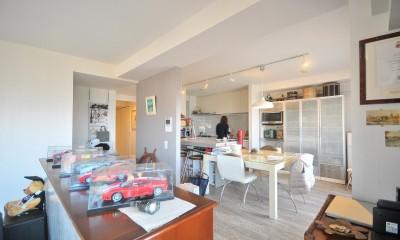 築24年のマンションを英国家具にマッチさせるスタイリッシュなテイストにリノベ!平日と休日のライフスタイルの変化にも対応できる生活動線