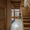 東大阪の家の写真 階段・廊下