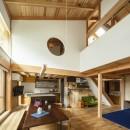 東大阪の家の写真 ダイニングの天井