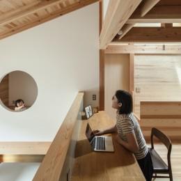東大阪の家 (二階の勉強スペース・個室)