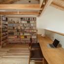 東大阪の家の写真 二階の勉強スペース