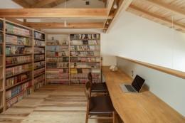 東大阪の家 (二階の勉強スペース)