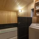 東大阪の家の写真 ヒノキの浴室