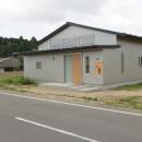 休耕地に建つ女性のための住宅の写真 休耕地の家|北東側外観