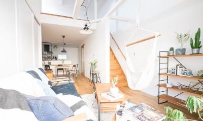 天井裏のスペースを部屋に取り込む戸建てリノベーション