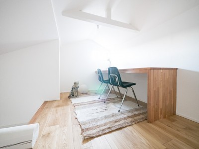 ロフト (天井裏のスペースを部屋に取り込む戸建てリノベーション)