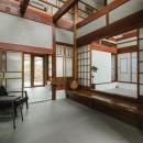 古民家カフェみたいな日本家屋リノベーション(下戸山の家リノベーション)の写真 玄関