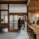 古民家カフェみたいな日本家屋リノベーション(下戸山の家リノベーション)の写真 ダイニング