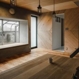 古民家カフェみたいな日本家屋リノベーション(下戸山の家リノベーション) (ダイニング)