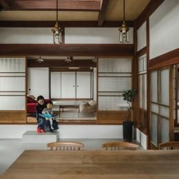 古民家カフェみたいな日本家屋リノベーション(下戸山の家リノベーション) (土間)