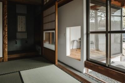 和室 (古民家カフェみたいな日本家屋リノベーション(下戸山の家リノベーション))