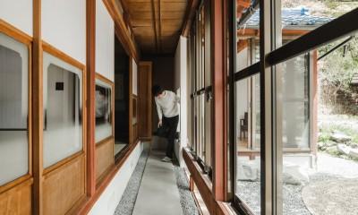 縁側|古民家カフェみたいな日本家屋リノベーション(下戸山の家リノベーション)