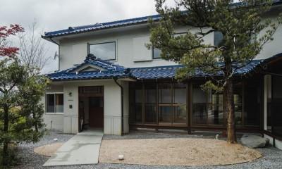 外観|古民家カフェみたいな日本家屋リノベーション(下戸山の家リノベーション)