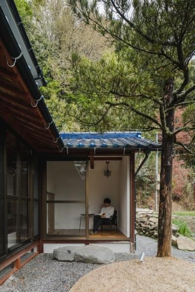 外観 (古民家カフェみたいな日本家屋リノベーション(下戸山の家リノベーション))