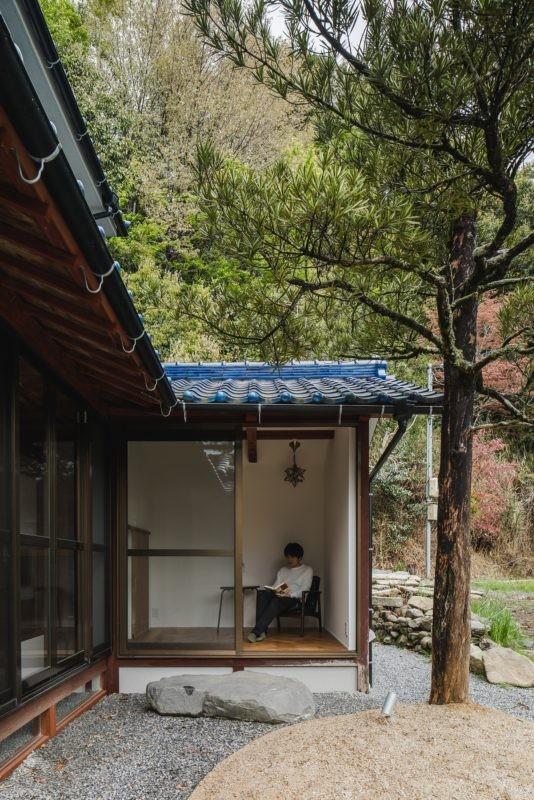 古民家カフェみたいな日本家屋リノベーション(下戸山の家リノベーション) (外観)