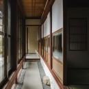 古民家カフェみたいな日本家屋リノベーション(下戸山の家リノベーション)の写真 縁側