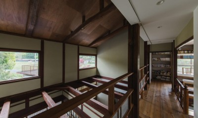 廊下|古民家カフェみたいな日本家屋リノベーション(下戸山の家リノベーション)