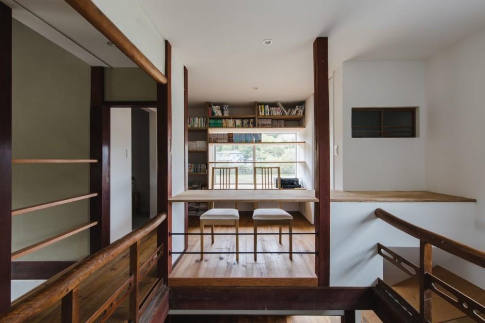 古民家カフェみたいな日本家屋リノベーション(下戸山の家リノベーション) (洋室)