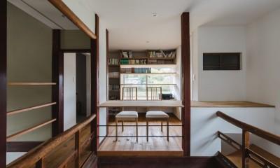 洋室|古民家カフェみたいな日本家屋リノベーション(下戸山の家リノベーション)