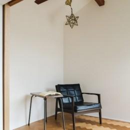 古民家カフェみたいな日本家屋リノベーション(下戸山の家リノベーション) (読書スペース)