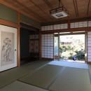 日本家屋の平屋をアンティークにリノベ(信楽の家リノベーション)の写真 和室