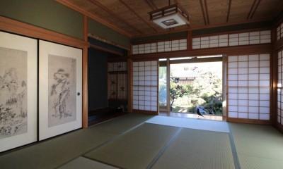 和室|日本家屋の平屋をアンティークにリノベ(信楽の家リノベーション)