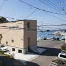 荒崎週末住居〜海・夕陽・富士山を望む家〜の写真 海との関係性