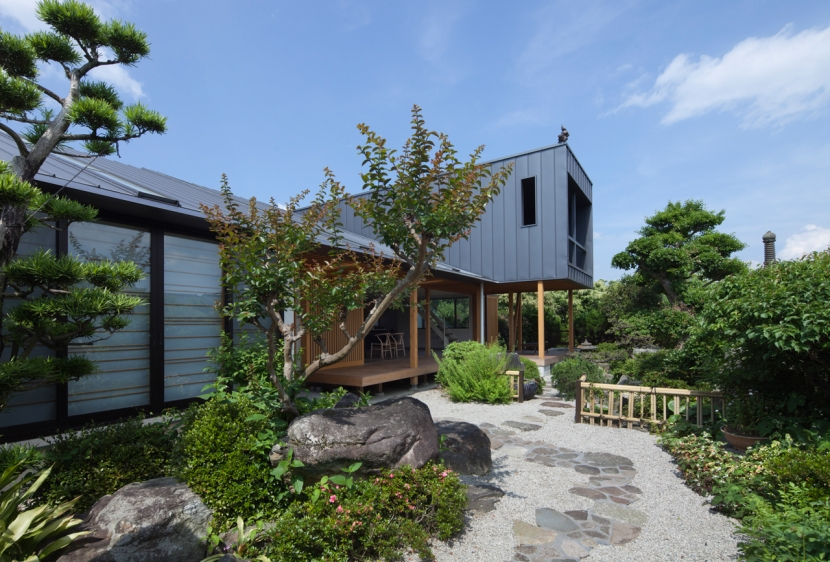 Y-HOUSEの部屋 日本庭園