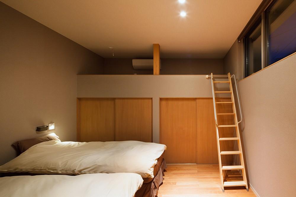 荒崎週末住居〜海・夕陽・富士山を望む家〜 (ベッドルーム)