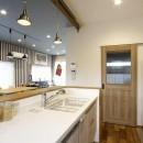 ナチュラル+アメリカンヴィンテージの写真 キッチン1