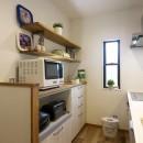 ナチュラル+アメリカンヴィンテージの写真 キッチン2