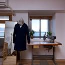 猫と植栽と家具をテーマにしたマンションリノベ(におの浜マンションリノベーション)の写真 裁縫部屋