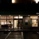 アイアンフレームを使ったオシャレなカフェ(cafe CICERO)の写真 外観